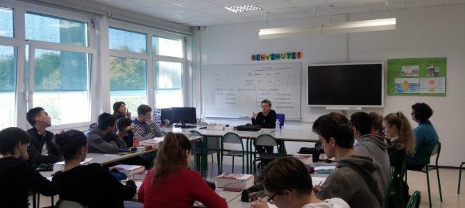 Professoresse dell'Istituto Piero Martinetti di Caluso in visita al Sema
