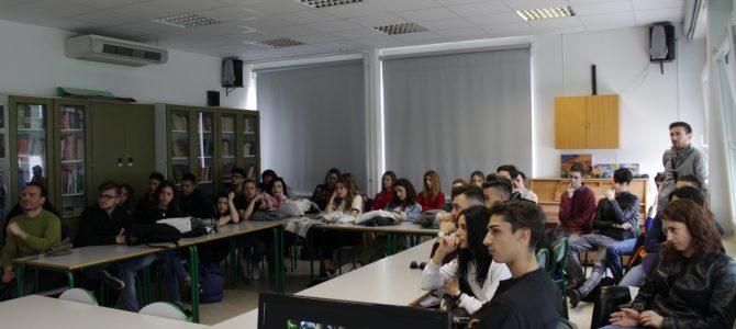 Incontro con gli studenti sell'IIS Piero Martinetti di Caluso