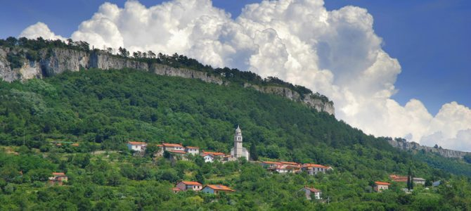 Escursione a Črni Kal e Hrastovlje