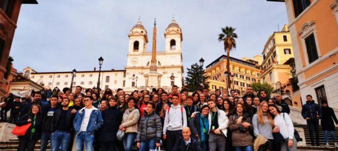 Un saluto da Roma!